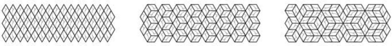 Przykładowe ułożenia płytek betonowych Tzara marki Artis visio