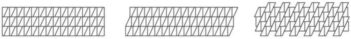 Przykłady ułożenia płytki betonowe Croco