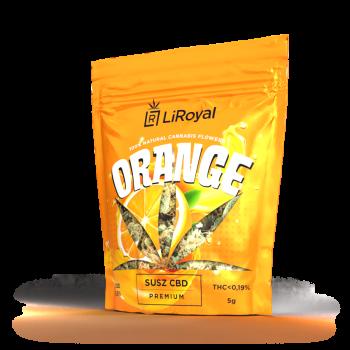 Susz CBD LiRoyal ORANGE 8,5% - 5 g