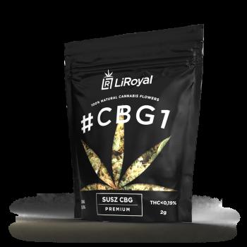 Susz #CBG1 LiRoyal 9,5% - 2 g