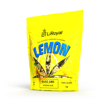 Susz CBD LiRoyal LEMON 13% - 5 g