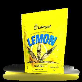 Susz CBD LiRoyal LEMON 13% - 1 g