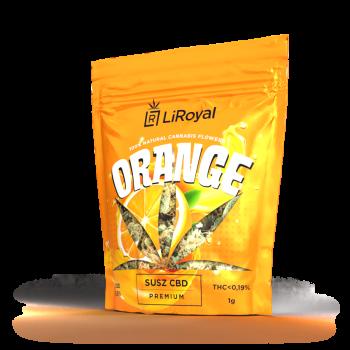 Susz CBD LiRoyal ORANGE 8,5% - 1 g