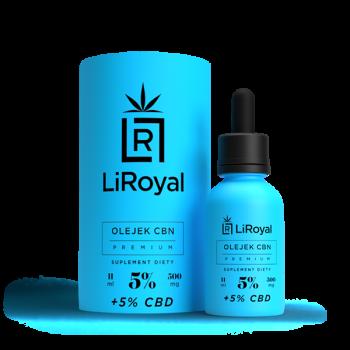 CBN LiRoyal oil 5% - 11 ml