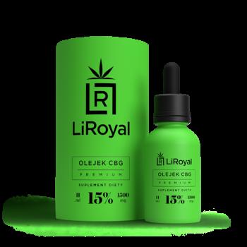 Olejek CBG LiRoyal 15% - 11 ml