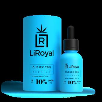 Olejek CBN LiRoyal 10% - 11 ml