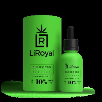 Olejek CBG LiRoyal 10% - 11 ml